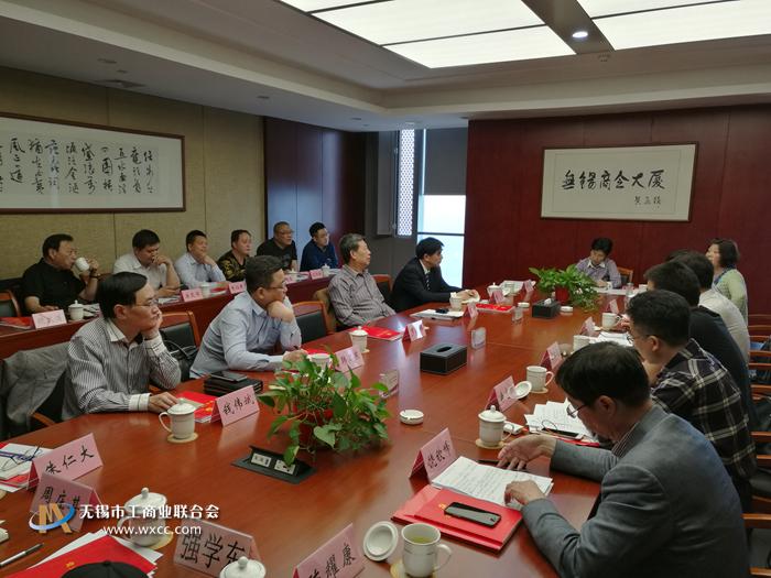 市总商会党委召开基层商协会党支部书记季度例会